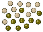 PB Products Heli-Chod Beads Gravel / Weed (20 st.)