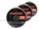 Scorpion Sinking Braid 20 m. Onderlijn materiaal