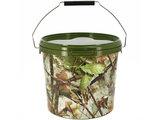 Camouflage Emmer + Deksel  5 liter