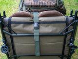 Platte Karper Stretcher Camouflage ingeklapt
