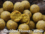 Boilies   Birdfood Hennep / Vanille