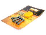 Tungsten Heli-Chod Rubber & beads set | X-Small Silt