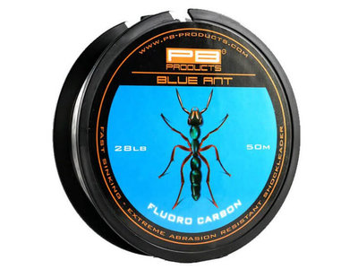PB Products Blue Ant Fluoro Carbon 28lb 50 meter