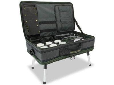 Bivvy tafel + tas set Deluxe (NGT)
