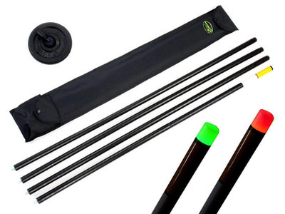 Staafmarker set 6 meter + Auto LED