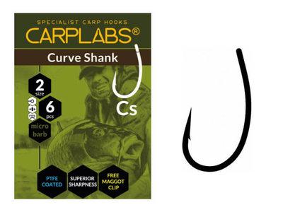 Karperhaken Carplabs Curve Shank 6 st.