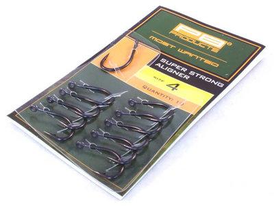 Super Strong Aligner Karperhaken 10 st. | PB Products