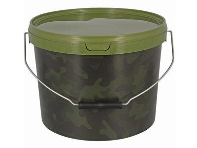 Camouflage Emmer + Deksel 10 liter