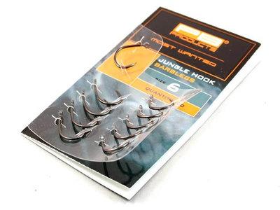 Jungle Barbless Hook Karperhaken 10 st. (PB Products)