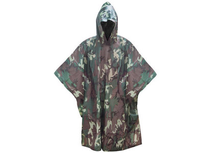 Camouflage Poncho