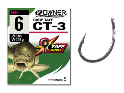 Owner Carp Teflon CT-3 Tsuyoshi | Karperhaken
