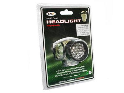 Hoofdlamp Camo 19 LED | NGT