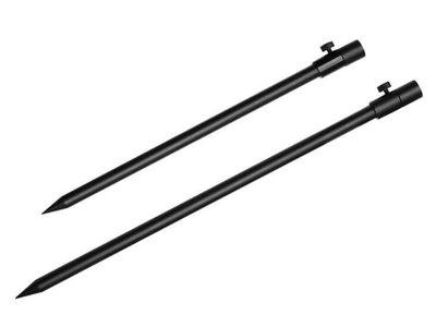 Bankstick Zwart 40-70 cm / 50-90 cm