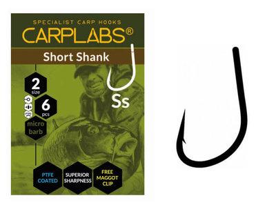 Karperhaken Carplabs Short Shank 6 st.