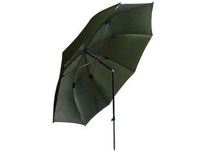 Vis Paraplu / Parasol Groen 2,10 m.