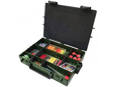 Tacklebox Groen 28 x 21 cm.