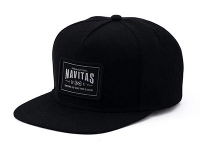 Snapback Pet Zwart | Navitas