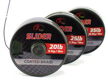 Slider Coated Braid 10 m. Onderlijn materiaal