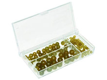 Rubber Beads Set 100 st.