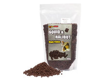 Squid & Halibut Pellets 4 mm (800 gr)